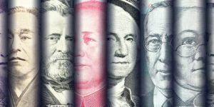 الدولار يرتفع مما أدى الى انخفاض الذهب بفضل المركزي الأمريكي